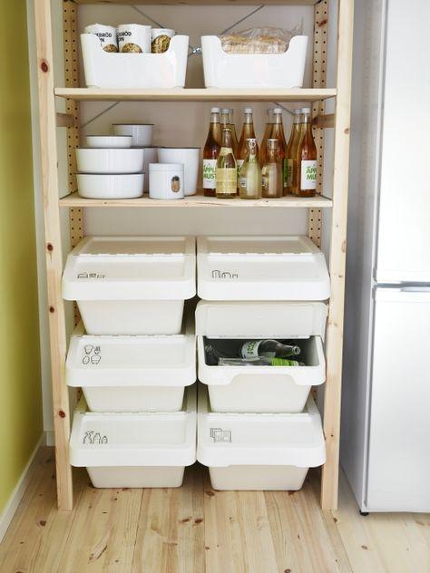 290 Ideeen Over Ikea Recycling Ikea Opberg Wasmanden Kelder Opruimen