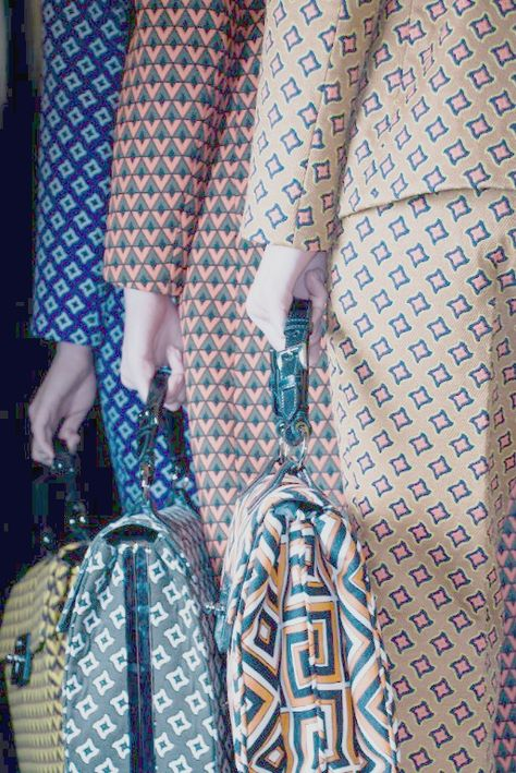 Prada / F/W 2012 / High Fashion / Ethnic & Oriental / Carpet & Kilim…