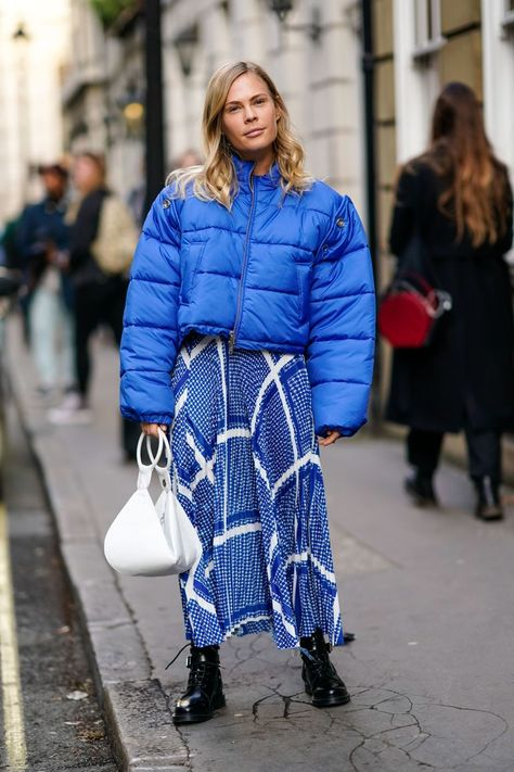 Are you wearing a power puffer jacket?