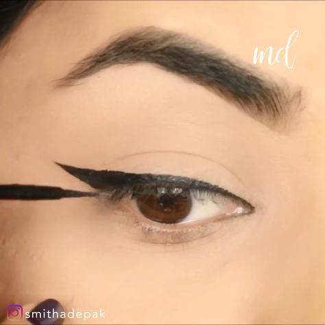 Eyeliner hacks to help you get that sharp and fleeky wing! By:@smithadepak
