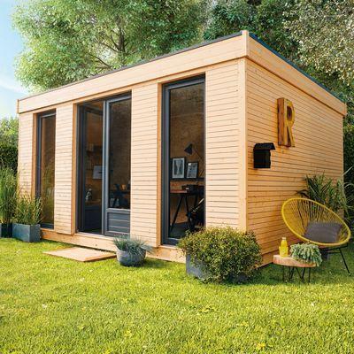 Casetta Da Giardino In Legno Decor Home 15 15 25 M Spessore 19 Mm Studio De Jardin Abri De Jardin Et Abri De Jardin Bois