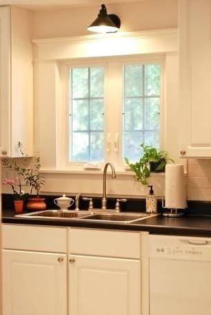 Wall Mounted Light Over Kitchen Sink Farmhouse Lighting