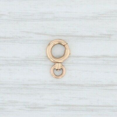 Ebay Advertisement Spring Ring Clasp 10k Yellow Gold Jewelry Making Findings Yellow Gold Jewelry Jewelry Gold Jewelry