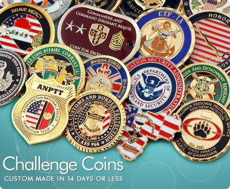 Custom Challenge Coins | Products | Custom challenge coins