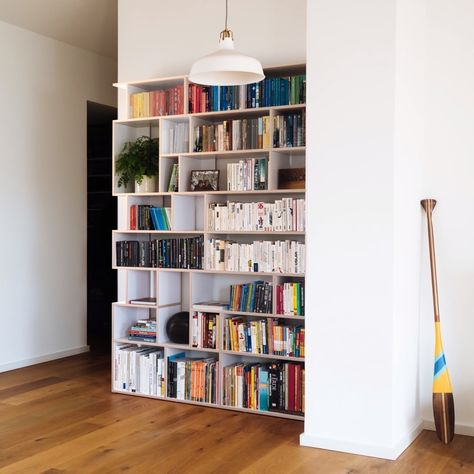 Perfectly-Sized Modern Bookcase with Style