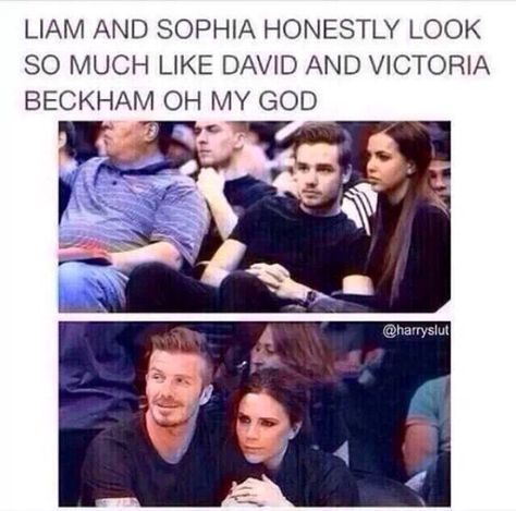 Yup. Wouldn't it be weird if they get married and have incredibly hot sons like the Beckham's?? Hey man, if you can date Liam, you may as well date his future hot son.