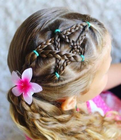 55 Trendy Haarzopfe Fur Madchen Kinder Einfache Frisuren Hair