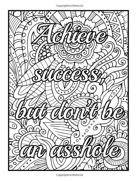 170 Swear Words Coloring Pages Ideas Swear Word Coloring, Coloring Pages, Words  Coloring Book