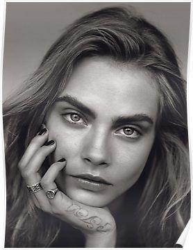 Vogue UK January 2014 issue : Editorial : The Face Model : Cara Delevingne Photography : Alasdair McLellan Styling : Kate Phelan