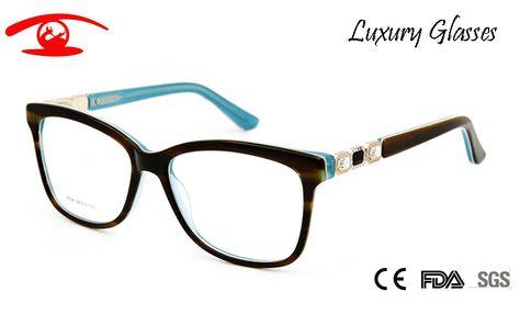c2f51c3efb58 Brand Designer Vintage Spectacle Frames Women Luxury Rhinestone Eyeglasses  Women Acetate Sexy Glasses Rx