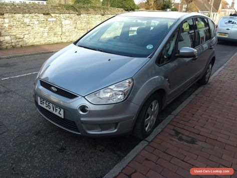 Car For Sale Ford S Max 1 8 Tdci