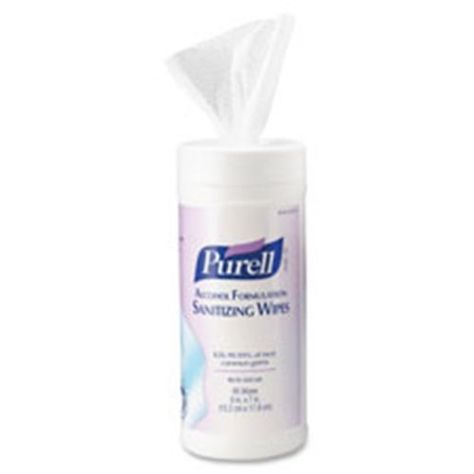 Gojo Goj903012 Purell Alcohol Hand Sanitizing Wipes Skin Care