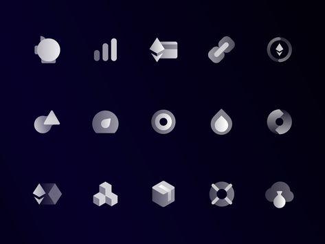 DAO.Casino: Interface icons Vol. 2
