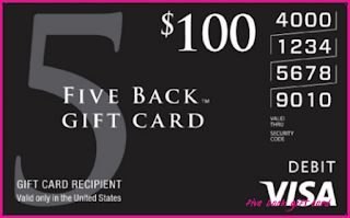 What Will Five Back Gift Card Be Like In The Next 10 Years? five