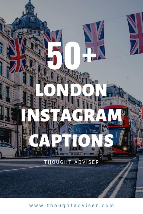 Have you been or live in London, England? Well, if you do/have odds are that you took a photo there which may end up on social media. If that's the case, then you might want to arm yourself with these London Captions. Our #LondonCaptions have been curated to give you the very best Instagram caption for your photo of #London.
