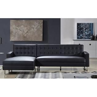 Polonne Sectional Sofa Upholstered In Pu Leather Or Fabric Leathersectionalsofas Contemporary Sectional Sofa Sectional Sofa Fabric Sectional Sofas