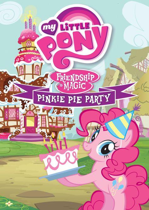 My Little Pony Pinkie Pie Tarjetas Invitacion Cumpleaños