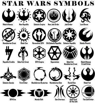 Star Wars Jedi Order Logo Vinyl Decal White Window Sticker CCI204 5.5 X 5 In Decal