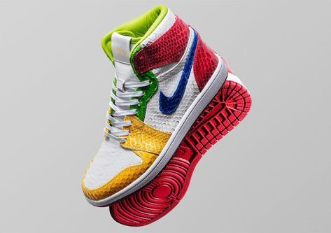buy popular 4375f bcaaf The Shoe Surgeon Teams Up With eBay To Auction Custom Air Jordan 1s For  Wildfire Relief Fund