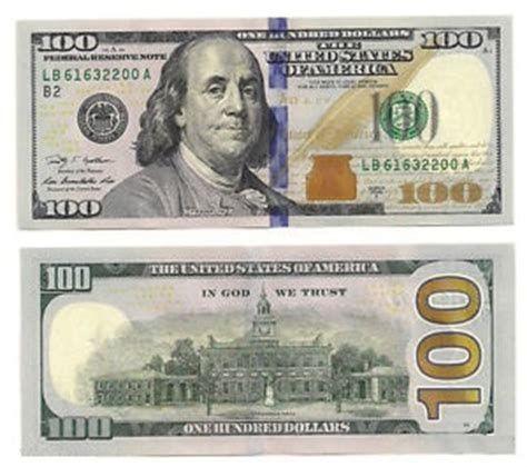 100 Dollar Bill Front And Back 100 Dollar Bill Banknotes Money Dollar Bill