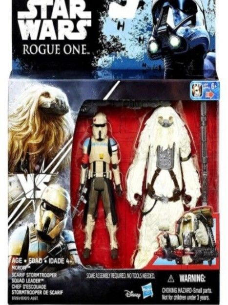 Disney Star Wars Rogue One /'Scarif Stormtrooper /& Moroff/' Action Figure Toy Gift
