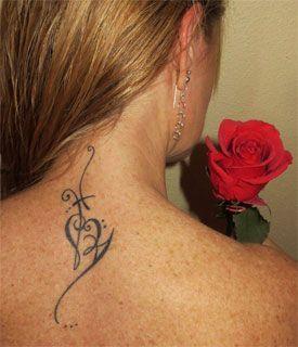 Tatuajes En El Cuello Mujer Frases