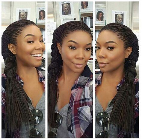 #BeingMaryJane star @ItsGabrielleU is working some #braids! What do you think? #celebspiration