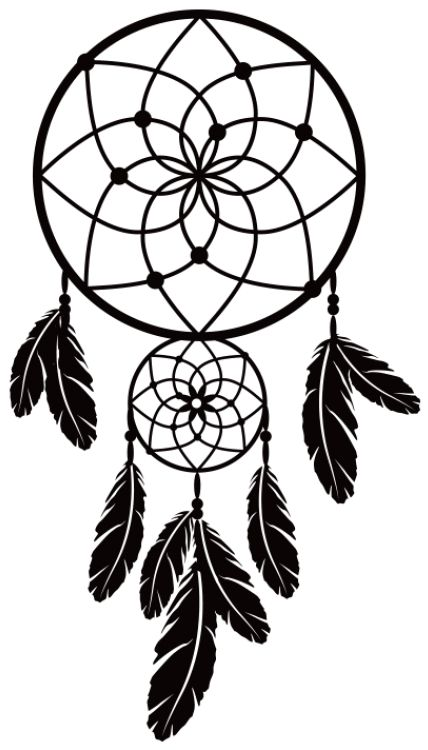 """Wall sticker """"Dreamcatcher"""" is a must-have for boho interior design!"""
