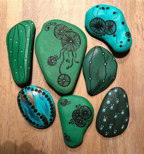 stoneart Psychedelic cactuses #diy...