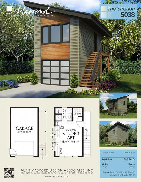 Stunning Suggestions To Experiment With Contemporarygaragedoors In 2020 Carriage House Plans Contemporary House Plans Garage House Plans