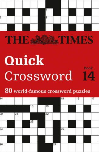 The Times Quick Crossword Book 14 80 World Famous Crossword Puzzles From The Times2 By The Times Mind Ga Crossword Puzzle Books Puzzle Books Crossword Puzzles