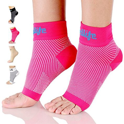 3d73f83057 dowellife Plantar Fasciitis Socks, Compression Foot Sleeves for Men & Women,  Ankle Brace & Arch Support, Fast Pain Relief, Ease Swelling, Heel Spurs, ...