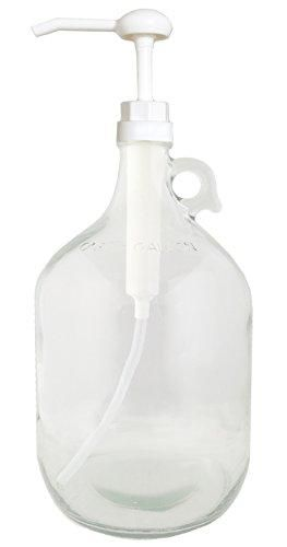 Glass Gallon Jug With Pump Detergent Storage Homemade Cleaning Products Laundry Detergent Storage