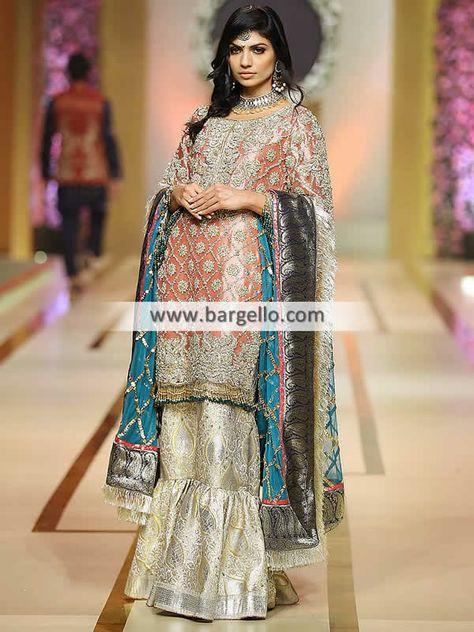 Pakistani Designer Walima Dresses UK USA Canada Valima Dresses Reception Dresses