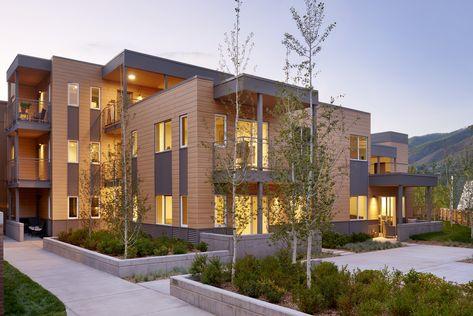Aspen Employee Housing Pura Nfc By Trespa House Styles Architect Aspen