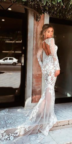 27 Chic Bridal Dresses Styles Silhouettes Lace Wedding Dress