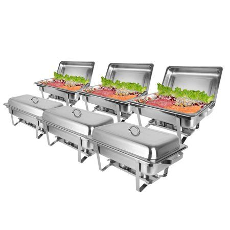 Home Chafing Dishes Food Warmer Buffet Catering Buffet