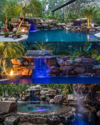 Muscle Shoals Alabama Overlooking Wilson Lake Lucas Lagoons Dream Backyard Pool Luxury Pools Backyard Pool Designs