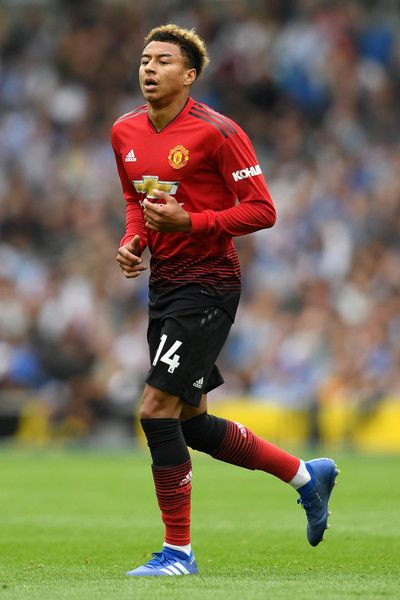Jesse Lingard Photos Photos Brighton Hove Albion Vs Manchester United Premier League In 2020 Manchester United Premier League Jesse Lingard Manchester United Football