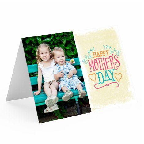 Photo Cards Make Custom Greeting Cards At Cvs Photo Custom Photo Cards Mothers Day Cards Photo Cards