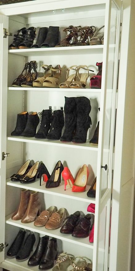 closet full of high heels my collection is pretty similar
