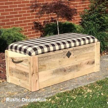 Rustic Diy Storage Ideas In 2020 Wooden Box Diy Wooden Diy Chests Diy