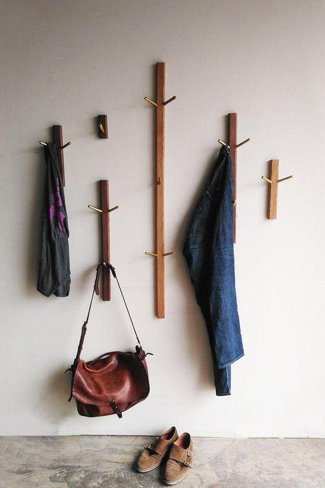 Wood Wall Hooks