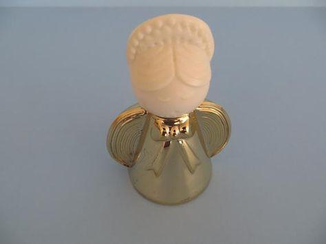 AVON GOLDEN ANGEL PERFUME BOTTLE   eBay