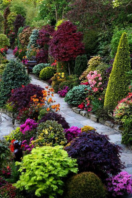 Landscaping Garden Ideas For Where Many Leaves Fall Where Garden Sanctuaries Landscaping Design Llc Outsid Beautiful Gardens Garden Inspiration Garden Design
