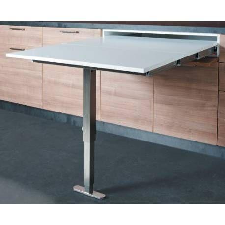 votre table encastrable dans un tiroir
