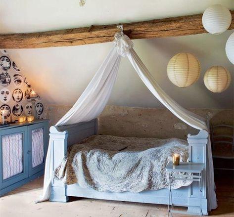 Dormir en una tienda de campaña ¡en casa! Dormitorios infantiles.  Camas para niños.  Camas originales. Camas con dosel