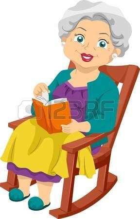 O Papoys Sthn Koynisth Poly8rona Anazhthsh Google Cartoon Grandma Writing Cartoons Rocking Chair