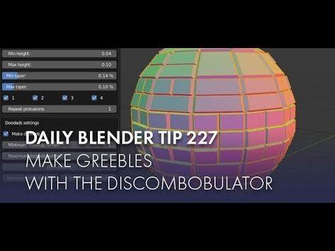 Daily Blender Tip 227 Discombobulator