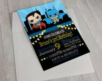 Lego Batman Invitaciones Invitaciones De Por